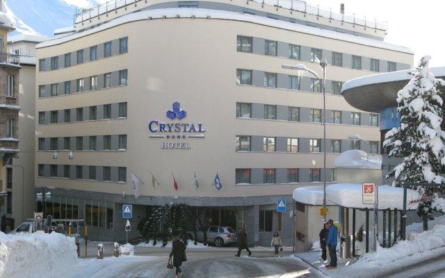 Отель Crystal Hotel superior Швейцария, Санкт-Мориц - отзывы, цены и фото номеров - забронировать отель Crystal Hotel superior онлайн вид на фасад