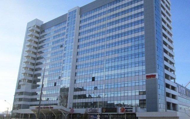 Гостиница Hilton Garden Inn Красноярск вид на фасад