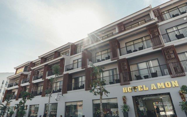 Hotel Amon вид на фасад