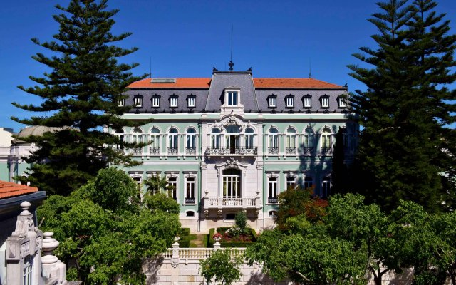 Pestana Palace Lisboa - Hotel & National Monument Лиссабон вид на фасад
