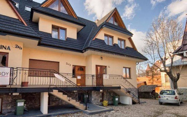 Апартаменты VISITzakopane City Apartments Закопане вид на фасад