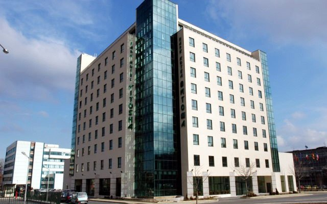 Vitosha Park Hotel вид на фасад