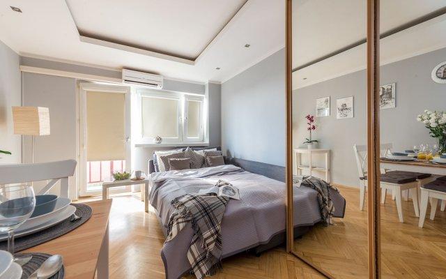 Отель Accommodo Apartament Emilii Plater Польша, Варшава - отзывы, цены и фото номеров - забронировать отель Accommodo Apartament Emilii Plater онлайн комната для гостей