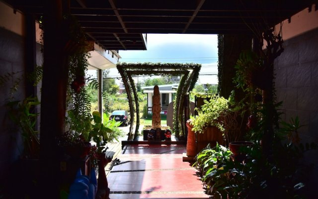 Отель Papa Monkey Resort вид на фасад