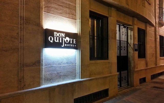 Отель Hospederia Hotel Don Quijote Испания, Сьюдад-Реаль - отзывы, цены и фото номеров - забронировать отель Hospederia Hotel Don Quijote онлайн вид на фасад