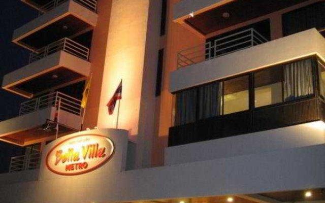 Отель Bella Villa Metro вид на фасад