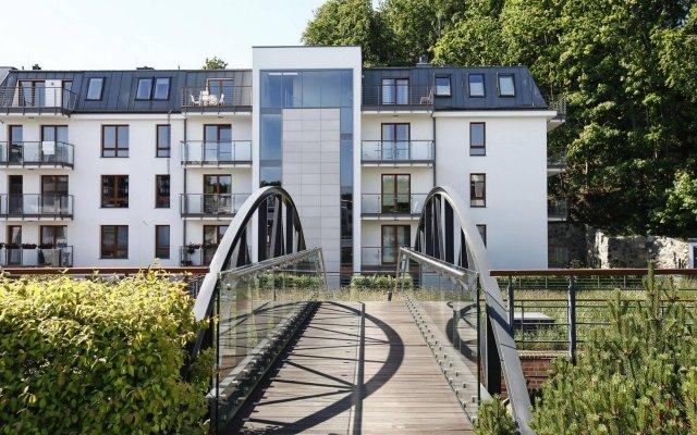 Апартаменты Apartinfo Exclusive Sopot Apartment вид на фасад