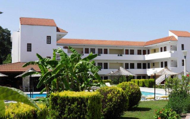 Отель Theatraki Apartments Греция, Кос - отзывы, цены и фото номеров - забронировать отель Theatraki Apartments онлайн вид на фасад