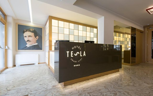 Бутик-отель TESLA Smart Stay вид на фасад