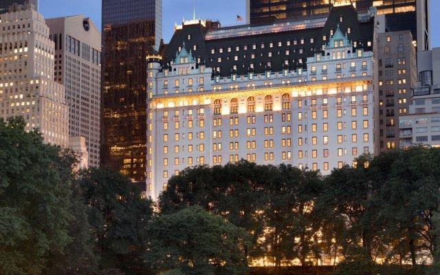 Отель The Plaza Hotel США, Нью-Йорк - 9 отзывов об отеле, цены и фото номеров - забронировать отель The Plaza Hotel онлайн вид на фасад
