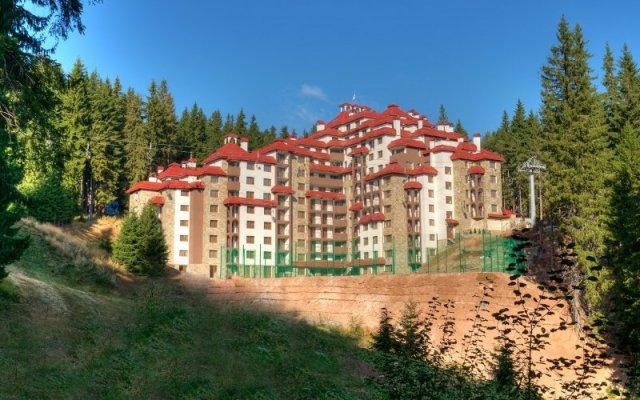 Отель Kamelia Болгария, Пампорово - отзывы, цены и фото номеров - забронировать отель Kamelia онлайн вид на фасад