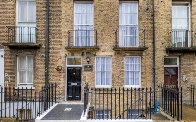 Апартаменты Marylebone Apartments вид на фасад