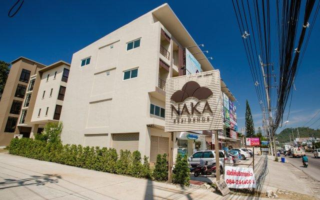 Отель Naka Residence вид на фасад
