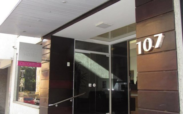 Cecomtur Executive Hotel вид на фасад