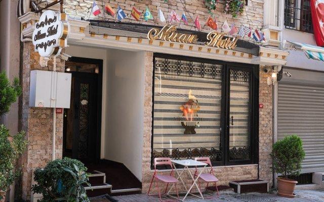 Miran Hotel Турция, Стамбул - 9 отзывов об отеле, цены и фото номеров - забронировать отель Miran Hotel онлайн вид на фасад