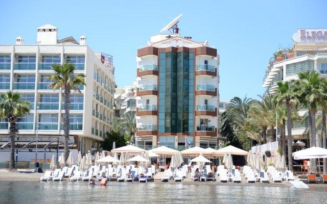 Yuvam Hotel Marmaris пляж