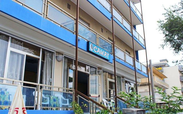 Отель Camay Италия, Риччоне - отзывы, цены и фото номеров - забронировать отель Camay онлайн вид на фасад