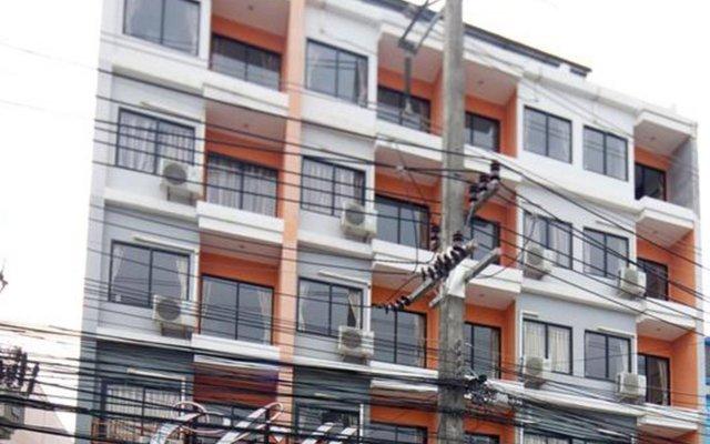 Chill Patong Hotel вид на фасад