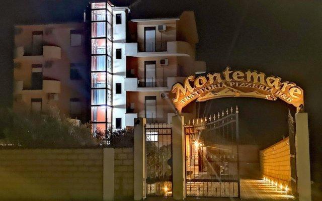 Отель B&B Montemare Агридженто вид на фасад