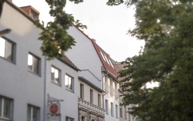 Отель Apartment11 Thüringer Кёльн вид на фасад