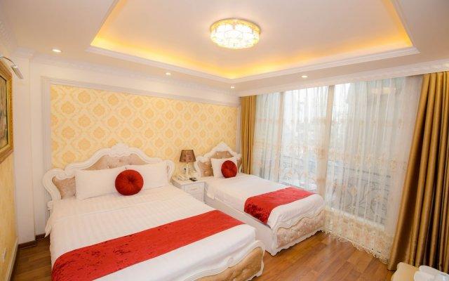 Hanoi Cristina Hotel & Travel комната для гостей