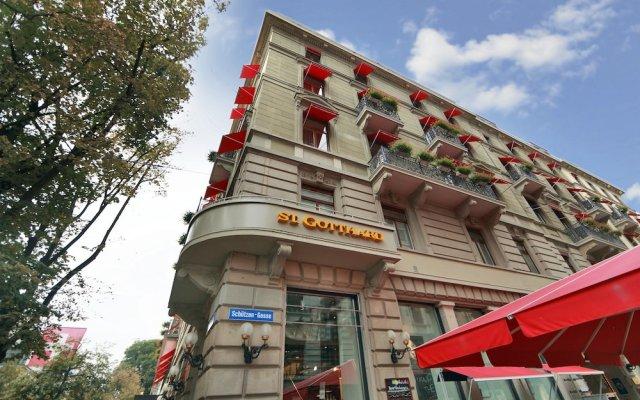 St Gotthard Hotel Цюрих вид на фасад