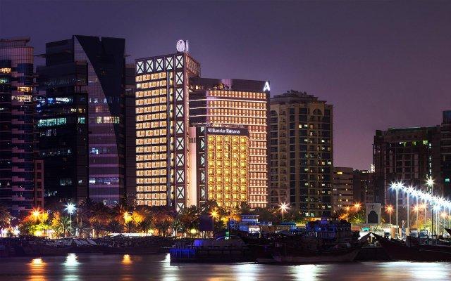 Отель Al Bandar Arjaan by Rotana вид на фасад