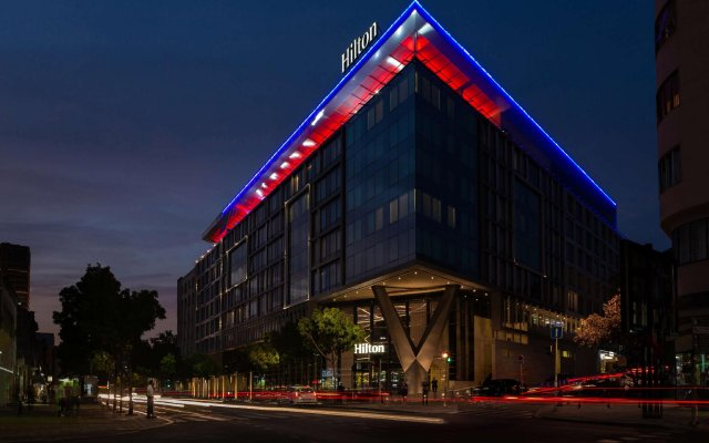 Отель Hilton Belgrade Сербия, Белград - 1 отзыв об отеле, цены и фото номеров - забронировать отель Hilton Belgrade онлайн вид на фасад