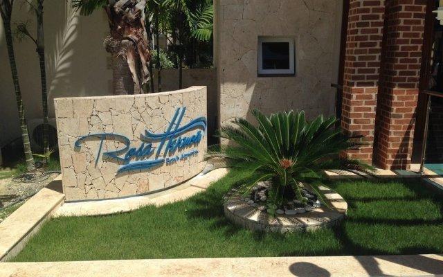 Отель Beatiful condo rosa hermosa Доминикана, Пунта Кана - отзывы, цены и фото номеров - забронировать отель Beatiful condo rosa hermosa онлайн вид на фасад