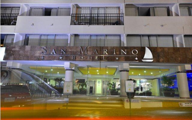 Отель San Marino вид на фасад