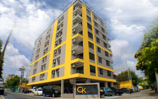 CK2 Hotel вид на фасад