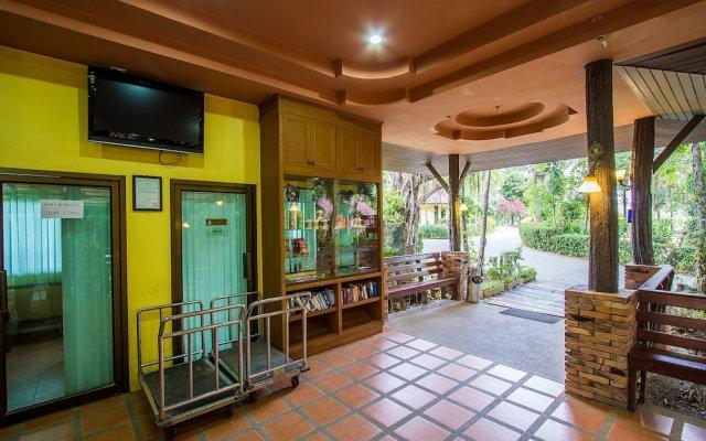 Отель Sunda Resort вид на фасад