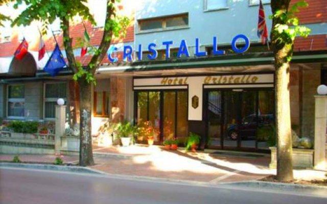 Отель Cristallo Кьянчиано Терме вид на фасад