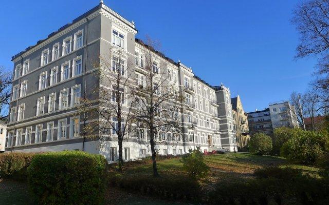 Апартаменты Frogner House Apartments Underhaugsvn 15 вид на фасад