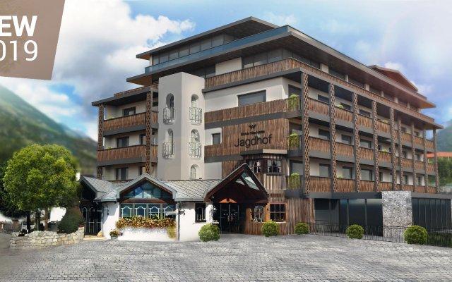 Dolce Vita Hotel Jagdhof Лачес вид на фасад