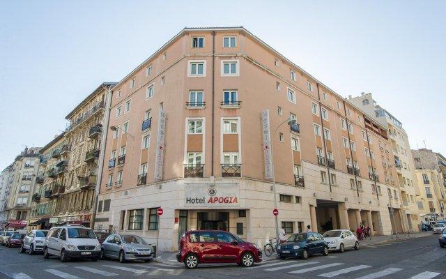 Отель Apogia Nice Франция, Ницца - 2 отзыва об отеле, цены и фото номеров - забронировать отель Apogia Nice онлайн вид на фасад
