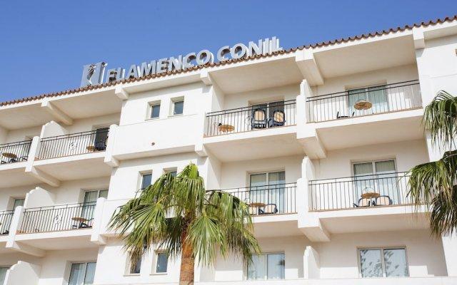 Hipotels Hotel Flamenco Conil вид на фасад