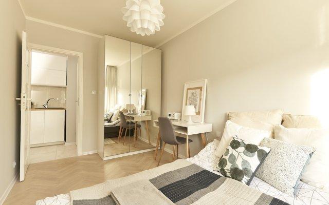 Апартаменты Hello Warsaw Brand New Apartment Варшава комната для гостей