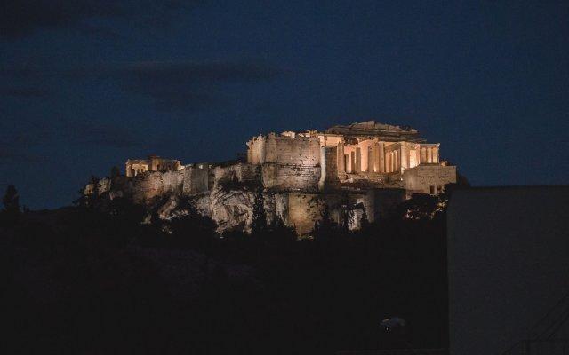 Апартаменты Acropolis Luxury вид на фасад