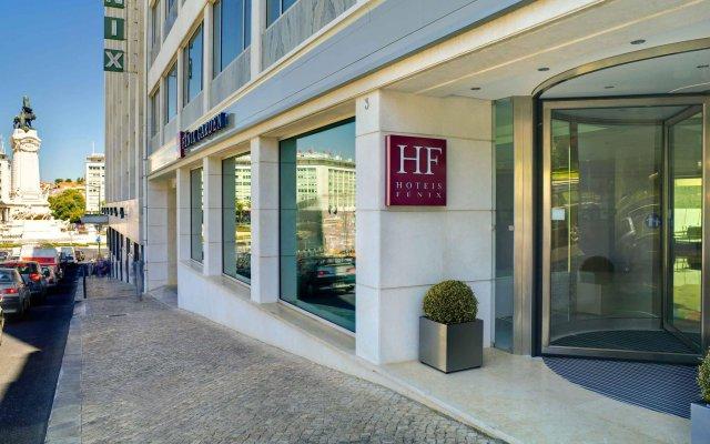 Отель HF Fenix Garden вид на фасад