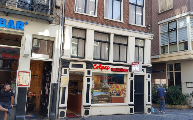 Hotel Old Quarter Амстердам вид на фасад