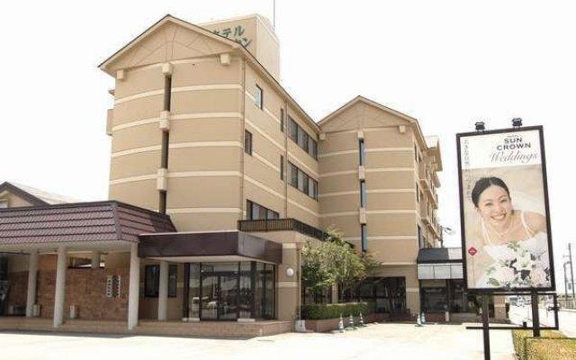 Hotel Sun Crown Oaso Минамиогуни вид на фасад