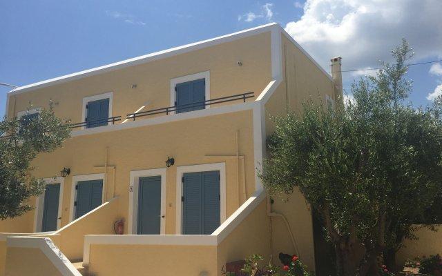 Отель Esperides Maisonettes Греция, Эгина - отзывы, цены и фото номеров - забронировать отель Esperides Maisonettes онлайн вид на фасад