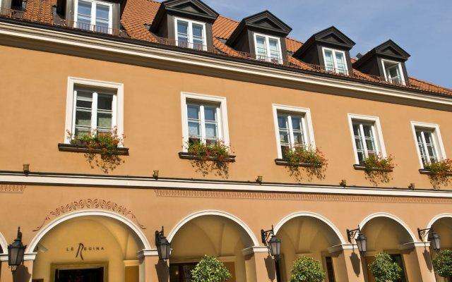 Mamaison Hotel Le Regina Warsaw вид на фасад