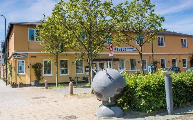 Hotel Gammel Havn Фредерисия вид на фасад