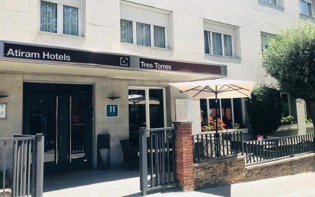 Tres Torres Atiram Hotel вид на фасад