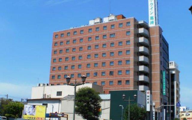 Отель Park Inn Takasaki Томиока вид на фасад