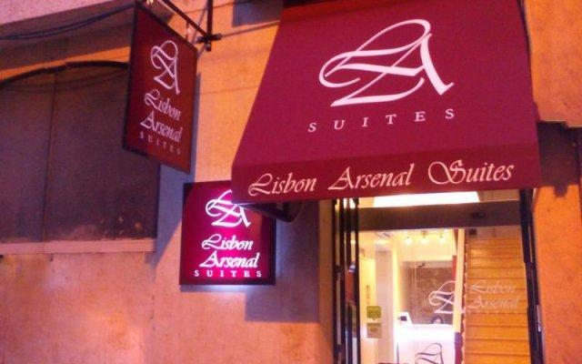Отель Lisbon Arsenal Suites Лиссабон вид на фасад
