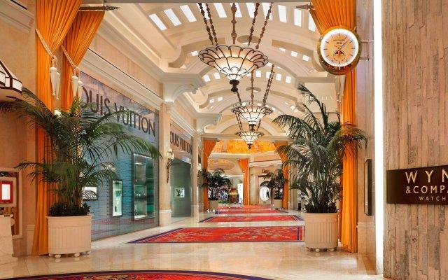 Отель Wynn Las Vegas вид на фасад