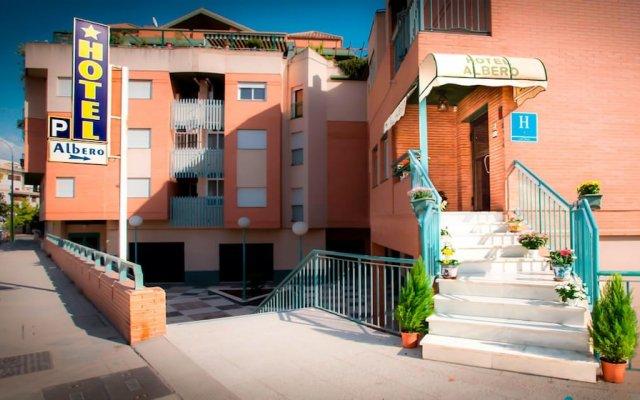 Hotel Albero вид на фасад